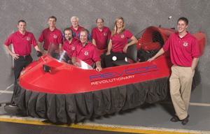 Revcor Corporate Teambuilding hover craft photo
